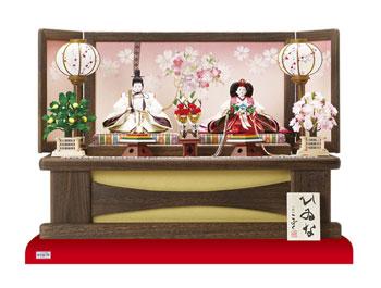 2015 雛人形 親王飾り