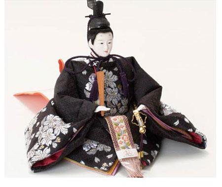 雛人形・毛氈飾りの衣裳着親王飾り No1014