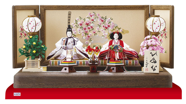 人形のまち岩槻 小木人形 焼桐親王飾りのおひなさま