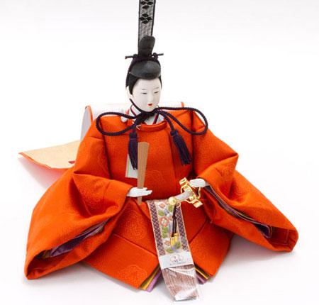 人形のまち岩槻 小木人形 雛人形 毛氈三段飾り