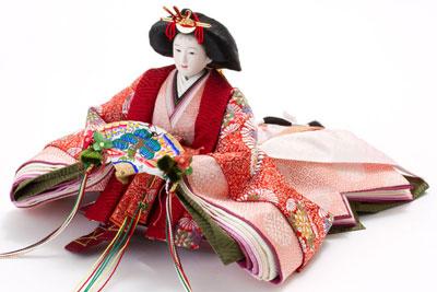 人形のまち岩槻 小木人形 雛人形 焼杉三段飾り