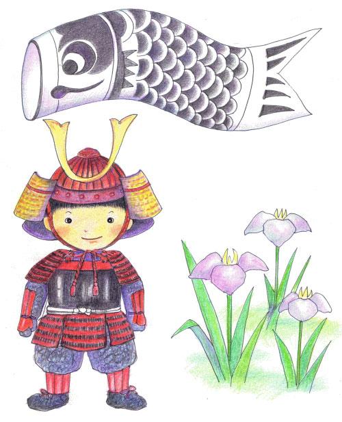 端午の節句 五月人形 鯉のぼり