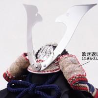 五月人形 広島 厳島神社所蔵  国宝模写 糸威大鎧 兜飾り