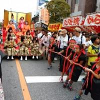 人形のまち岩槻 人形仮装パレード