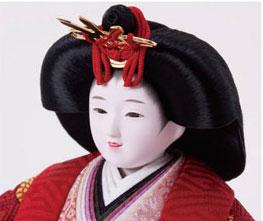 人形のまち岩槻 小木人形 お顔の良いことでが人気です。