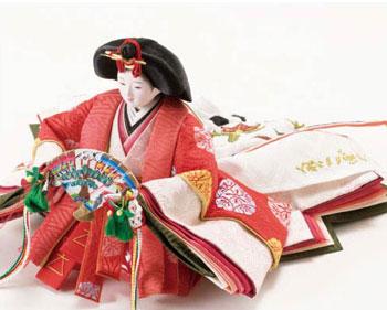 人形のまち岩槻 小木人形 雛人形 商品番号 No2992