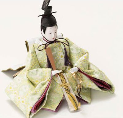 2018年度雛人形 京小十番親王収納飾り No1026 男雛