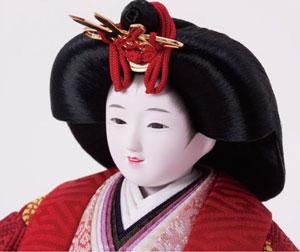 雛人形・ 京小十番焼桐平台親王飾りNo1009A