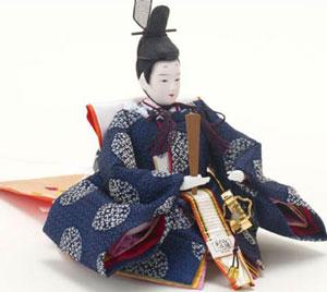 雛人形・京小十番焼桐平台親王飾りNo1009B 男雛