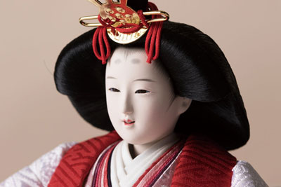 雛人形・京十番焼桐平台親王飾りNo1011