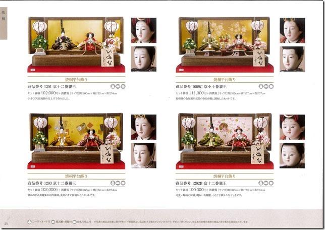 雛人形・親王飾りのサイズ コンパクトサイズから豪華サイズ