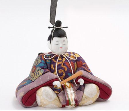 雛人形・木目込親王平台飾り 宝永雛 No8703
