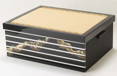 厳島神社蔵 国宝『浅葱綾威』模写三分の二 兜飾り No310E 飾り台・屏風