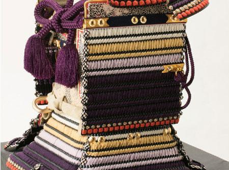 五月人形は 重文模写 紫裾濃威大鎧 鎧平台飾り 商品番号 No321-G
