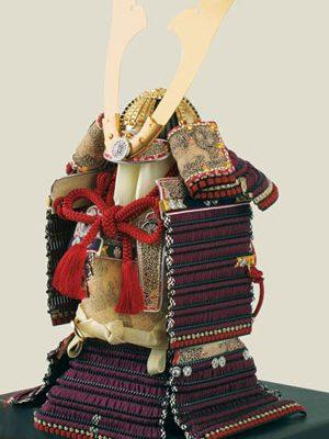 五月人形・ 国宝模写 紫糸威大鎧 鎧飾り No321-K