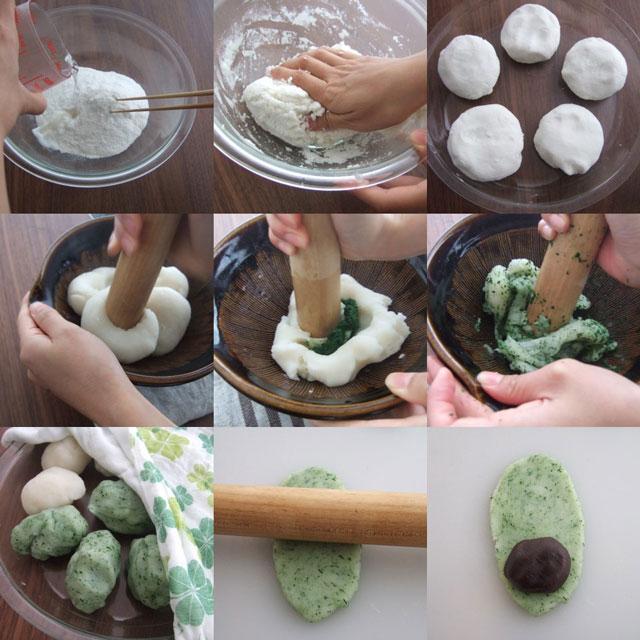 端午の節句 柏餅 レンジで作る簡単レシピをご紹介いたします♪