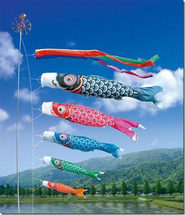 五月人形・鯉 端午の節句