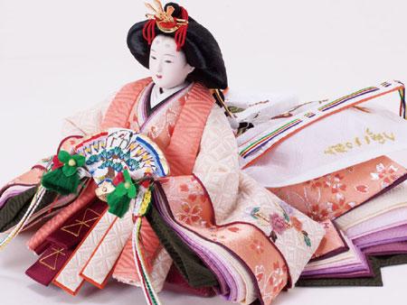 雛人形・1005A親王飾り 女雛