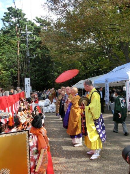 人形のまち岩槻 人形供養祭風景