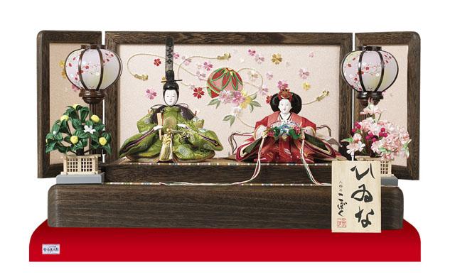 雛人形・親王平台飾りNo1202