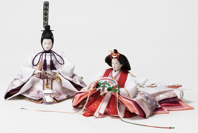 平台京十番親王 親王飾りの雛人形 No1011