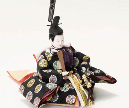 雛人形・京十二番焼桐平台親王飾り No1201 男雛