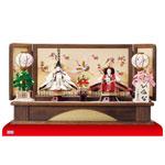 雛人形 京十番親王焼桐平台親王飾りNo1012