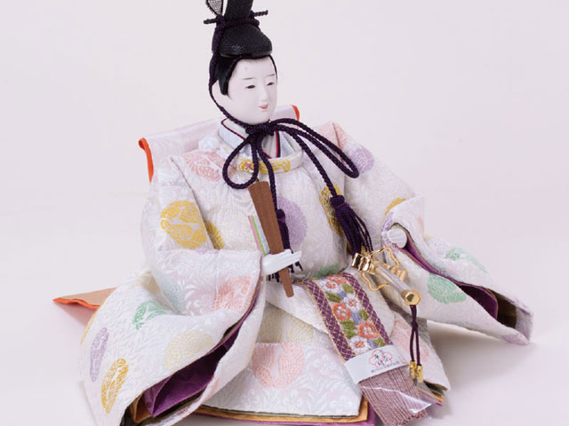 京十番親王衣装着親王 飾りの雛人形 No1012 男雛