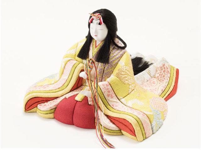 木目込人形親王 飾りの雛人形 No8705 女雛