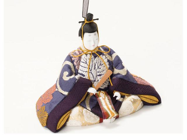 木目込人形親王 飾りの雛人形 No8705 男雛