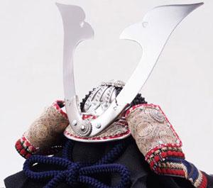 国宝模写 紺糸威大鎧の兜