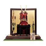 五月人形・国宝模写鎧兜 紅糸威之大鎧 梅飾りの大鎧