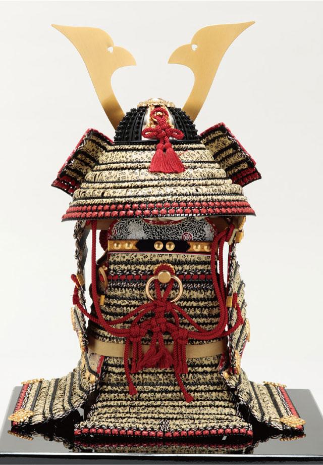 五月人形・国宝模写鎧兜 国宝模写 小桜黄返韋威大鎧 背面