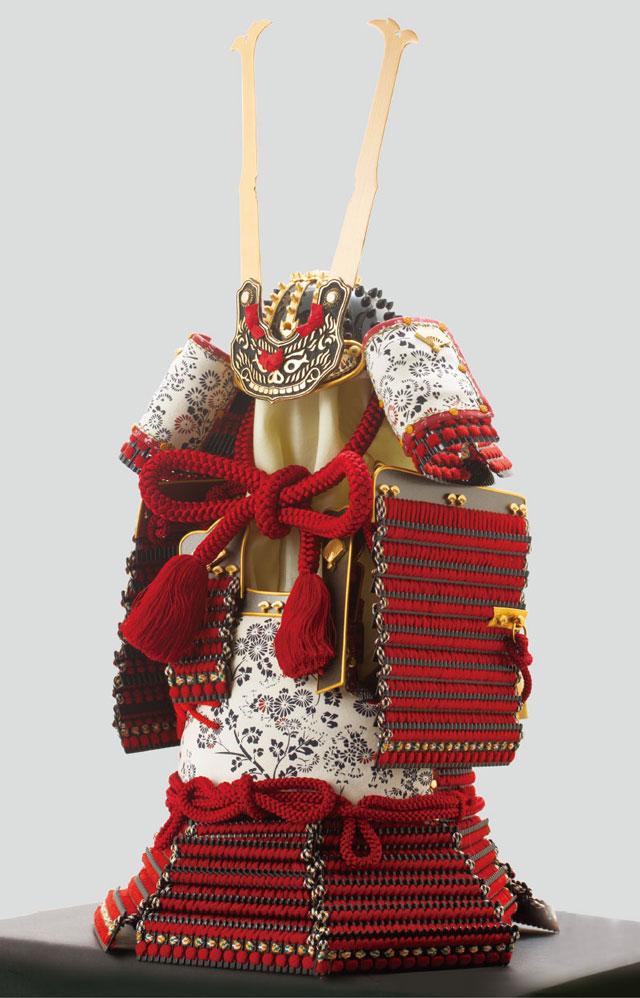 五月人形・愛媛県 大山衹神社所蔵 国宝模写 赤糸威胴丸鎧 No321H