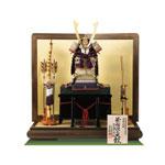 五月人形・重文模写 紫裾濃威大鎧 平台飾りNo321G