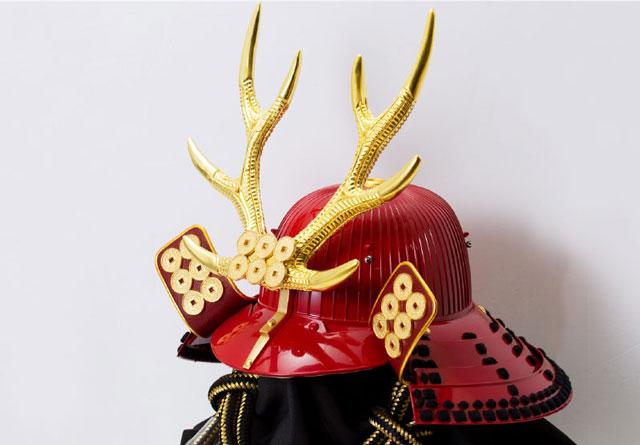 五月人形・戦国武将着用兜収納飾り 真田幸村公 商品番号 No8171 兜本体