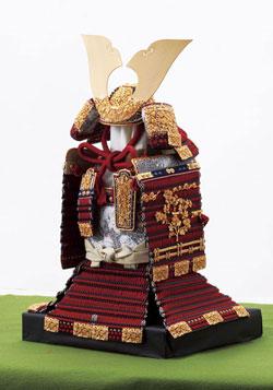 国宝模写 菊一文字赤糸威大鎧