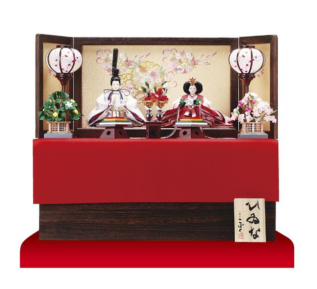 雛人形 京小十番親王収納飾りNo1027