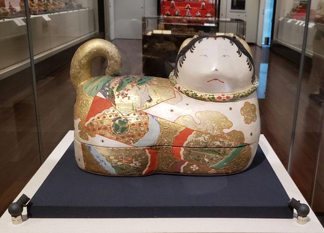 人形のまち岩槻 岩槻人形博物館 所蔵品 岩槻人形博物館 『犬筥 江戸時代』
