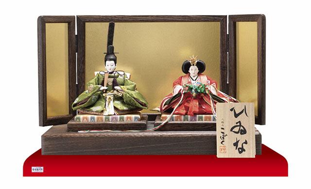 雛人形・京十二番焼桐平台親王飾りNo1401