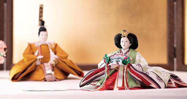 雛人形 令和雛イメージ 女雛・男雛