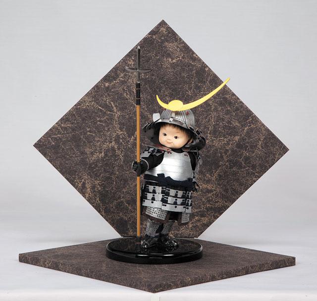 五月人形 わんぱく大将飾  謙信剣舞 3974