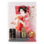 初正月飾り・羽子板飾り 女児の初正月への贈り物 羽子板