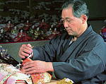 京人形伝統工芸士 小出松寿