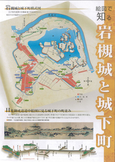 岩槻城と城下町