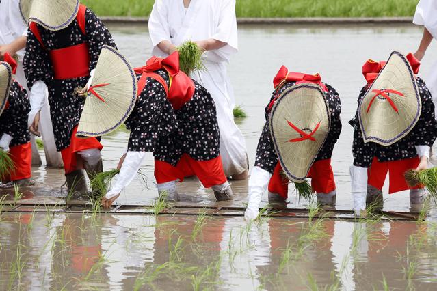 端午の節句の由来 お田植え祭り 神事