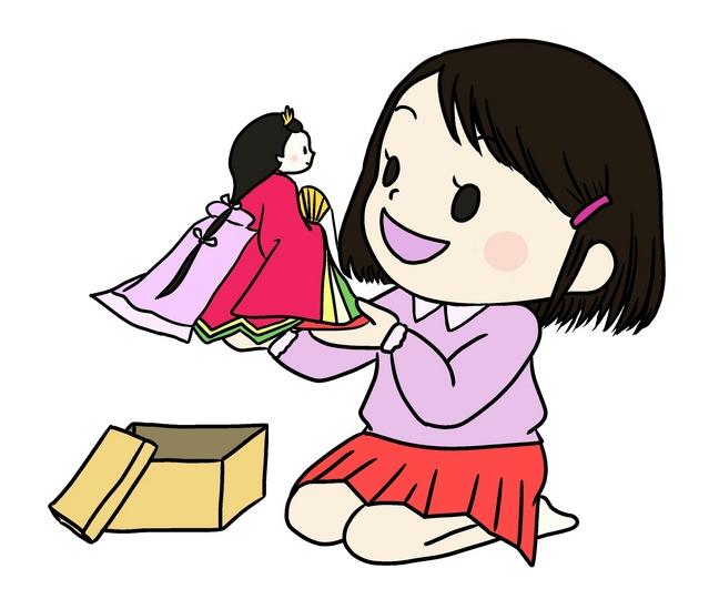 雛祭り 桃の節句 女の子のお祭り