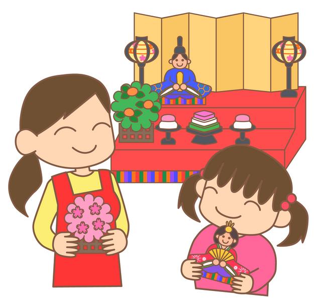 ひな祭り 桃の節句