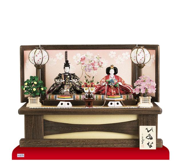 京十番親王焼桐高床台親王飾りNo1010B
