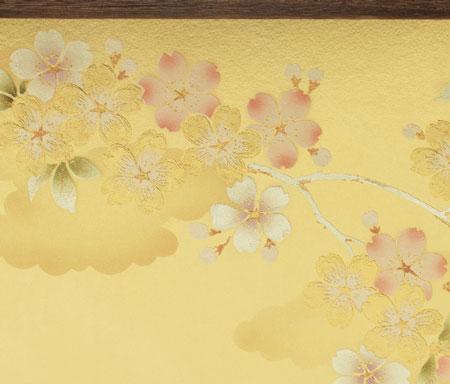京小十番塗桐平台親王飾りNo1009C 屏風